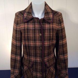 Boden British Tweed by Moon Women's Jacket